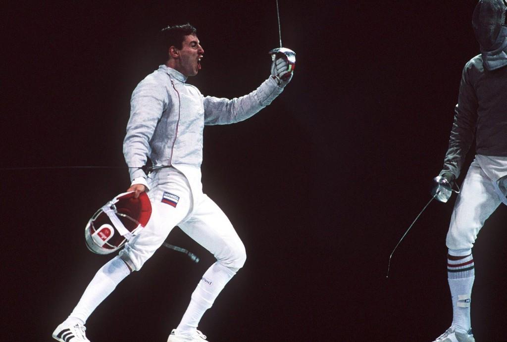 Stanislav Pozdnyakov won individual and team gold at the 1996 Olympic Games in Atlanta