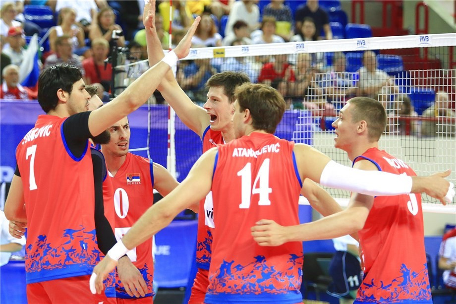 Serbia maintain unbeaten record at FIVB World League as first pool phase draws to a close