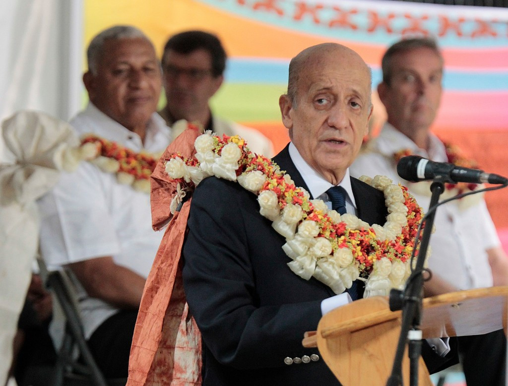 FINA President Julio Maglione was present at the Opening Ceremony of the Championships