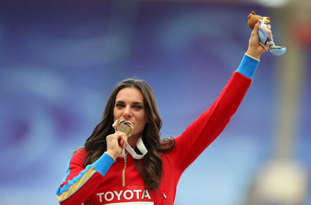 Athletes like Yelena Isinbayeva seem to have no chance of competing at Rio 2016 ©Getty Images