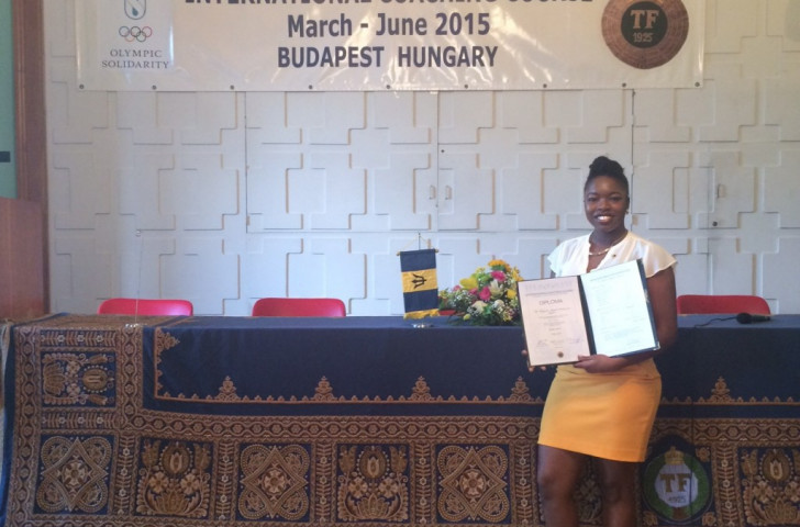 Mariama Eastwood has graduated from the International Coaching Course ©BOA