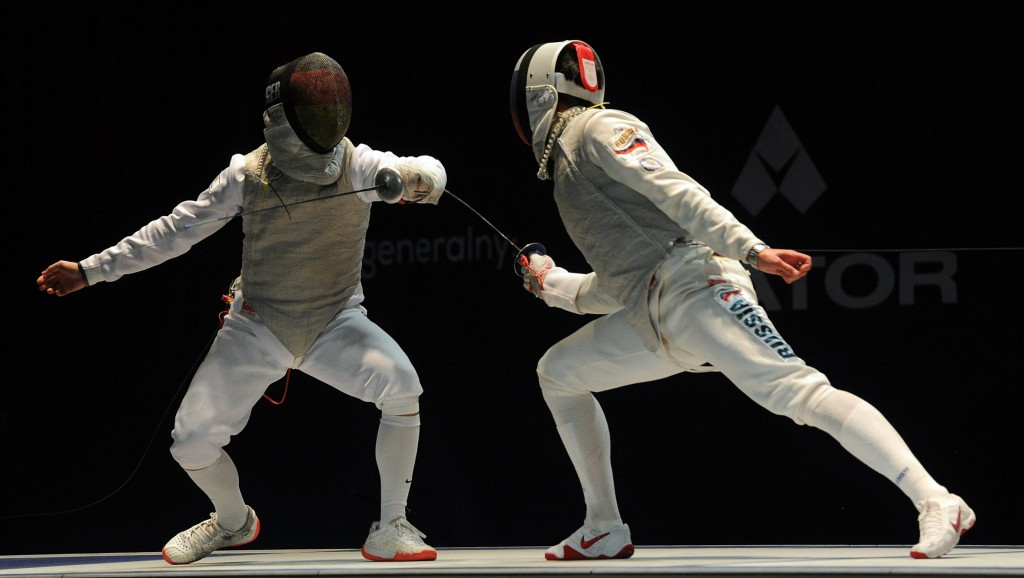 Timur Safin triumphed in the men's foil competition