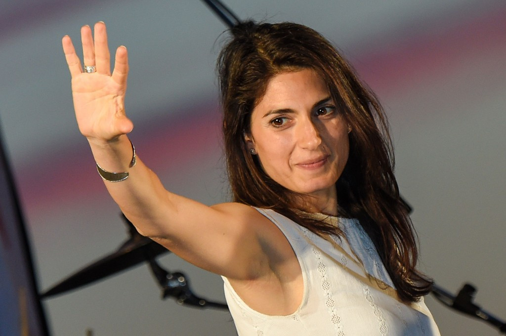 Rome 2024 have congratulated Virginia Raggi on her election as Mayor ©Getty Images