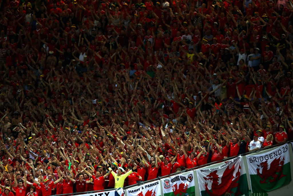 In pictures: Wales edge England to top spot in Group B at Euro 2016
