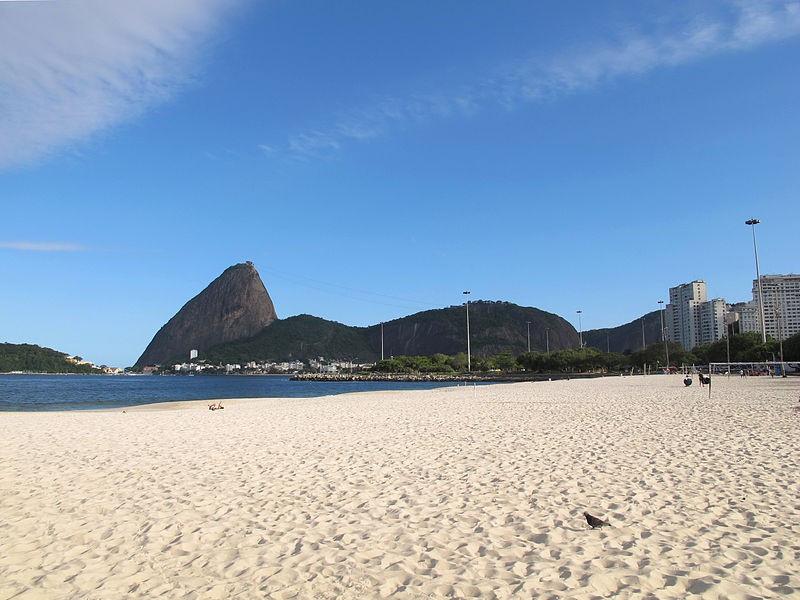 Liesl Tesch was training near Flamengo Beach close to the Guanabara Bay sailing venue ©Wikimedia Commons
