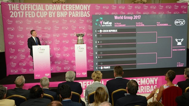 Defending champions Czech Republic drawn against Spain in first round of 2017 Fed Cup