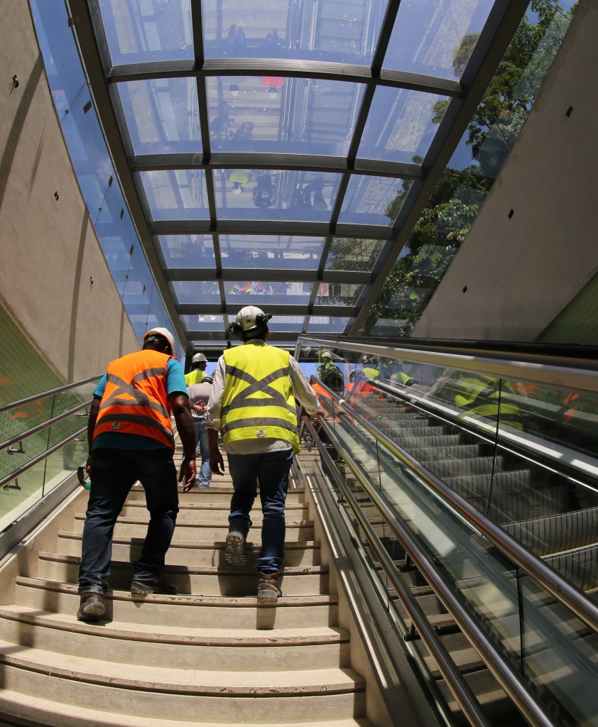 Final work to complete the subway line linking the Olympic Park with the city centre is among Rio 2016-related projects dependent on State support ©Getty Images