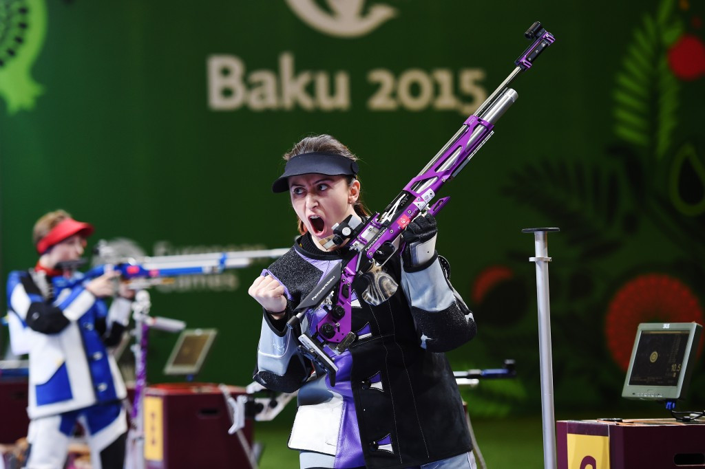 Shooting featured on the sports programme of the Baku 2015 European Games