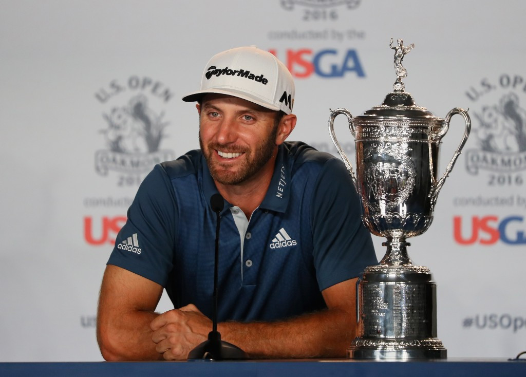Dustin Johnson won the U.S. Open in controversial circumstances