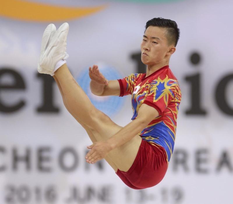 Saito becomes first male Japanese gymnast to win Aerobic Gymnastics World Championships gold