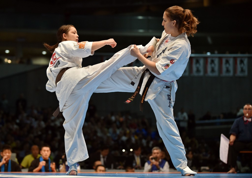 Karate is another sport added to the programme today ©Getty Images