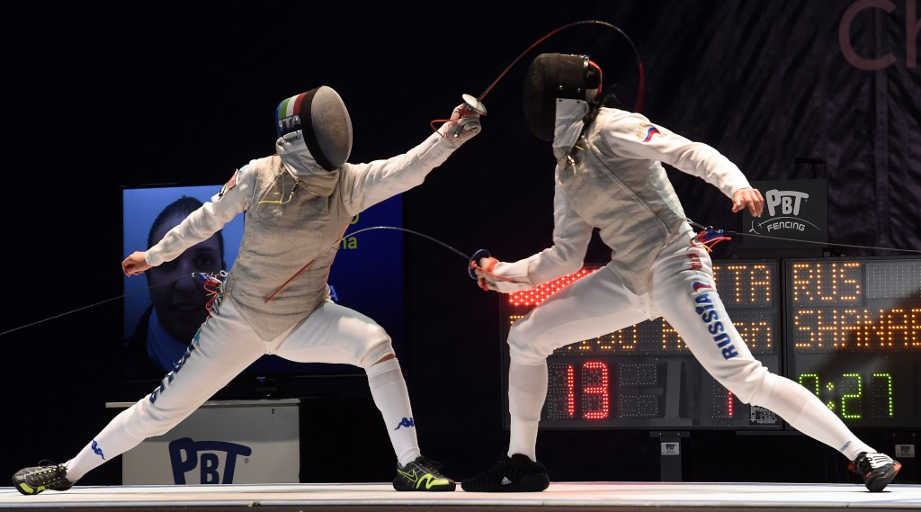 World number one Errigo claims women's foil gold at European Fencing Championships