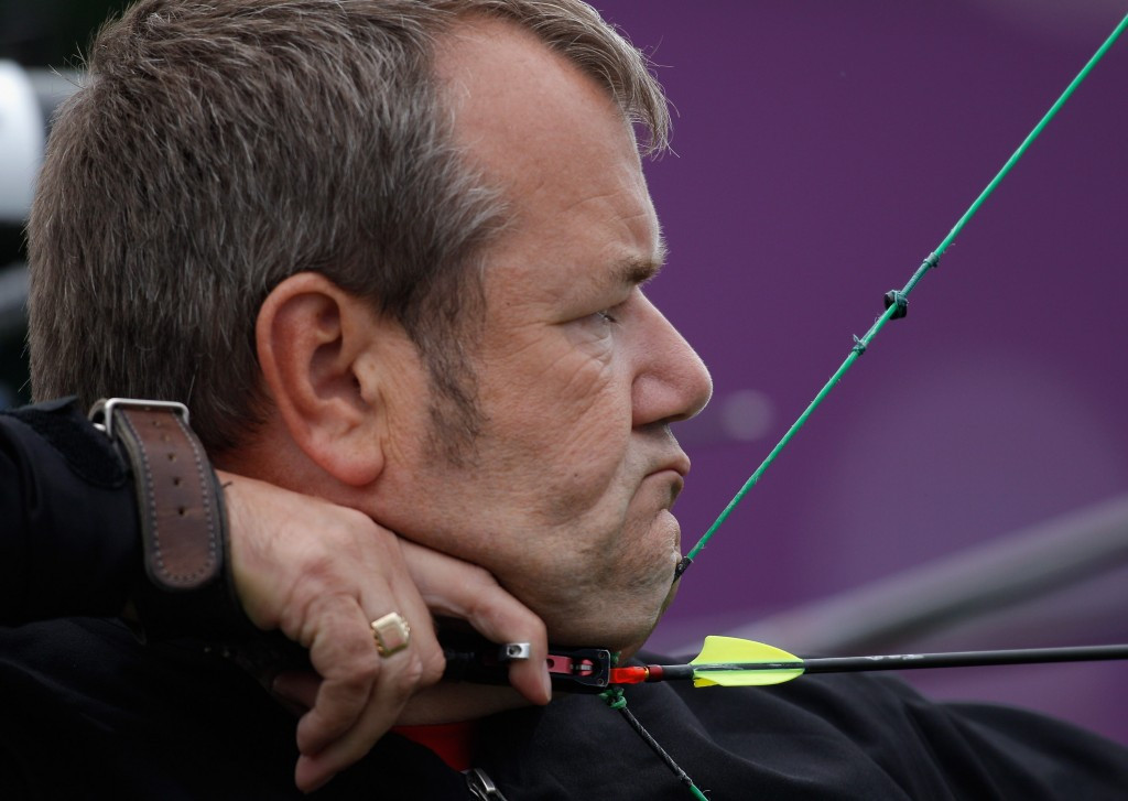 John Stubbs has been named in the British archery team for the Paralympic Games ©Getty Images