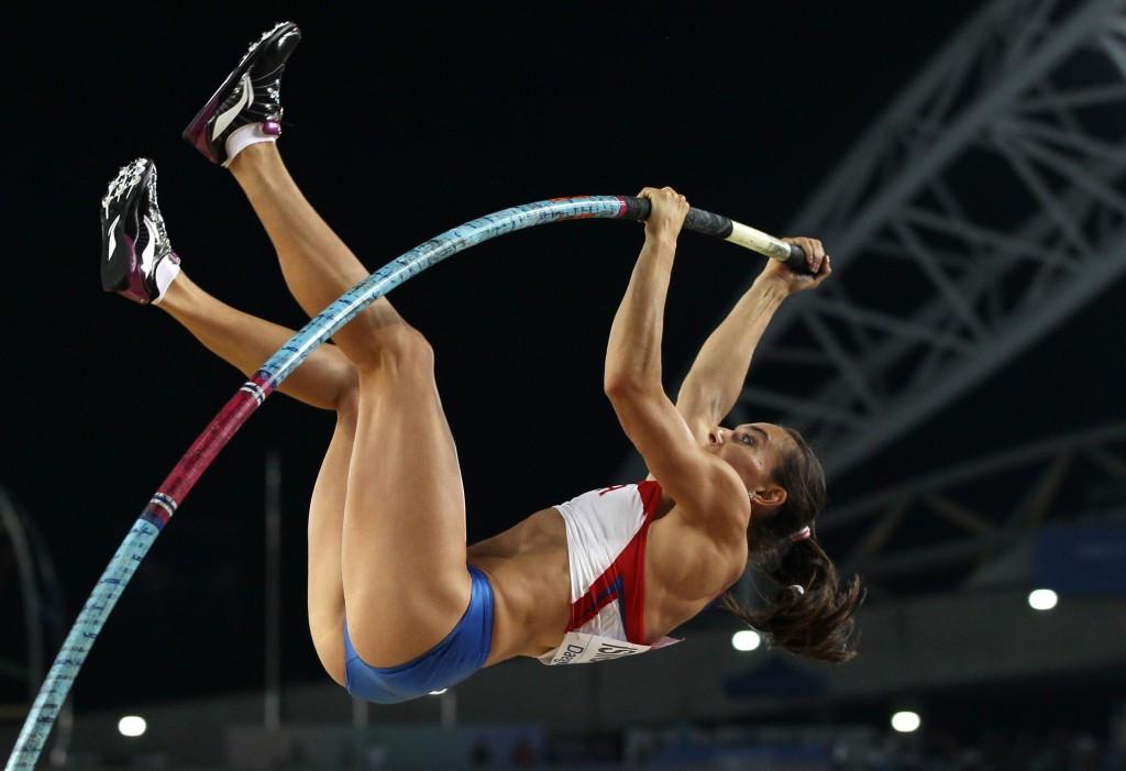 Yelena Isinbayeva has renewed hope of competing at Rio 2016 ©Getty Images