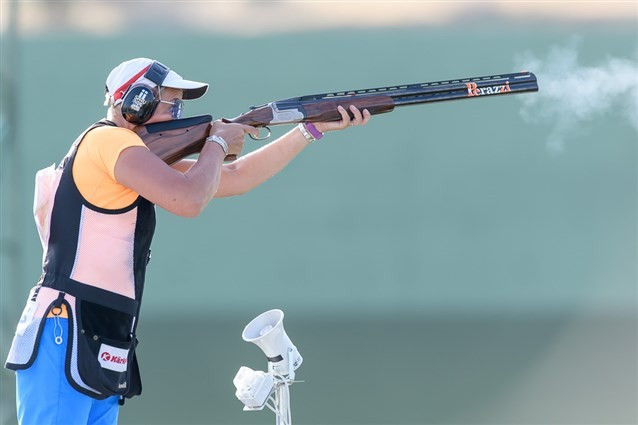 Former Olympic champion claims women's trap gold at ISSF World Cup in Baku