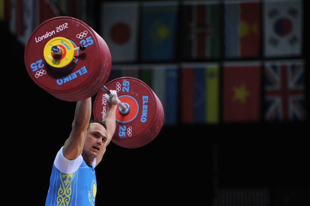 Kazakhstan's Olympic champion Ilya Ilyin was one of three weightlifting medallists from Beijing 2008 to have failed doping tests following the re-analysis of samples