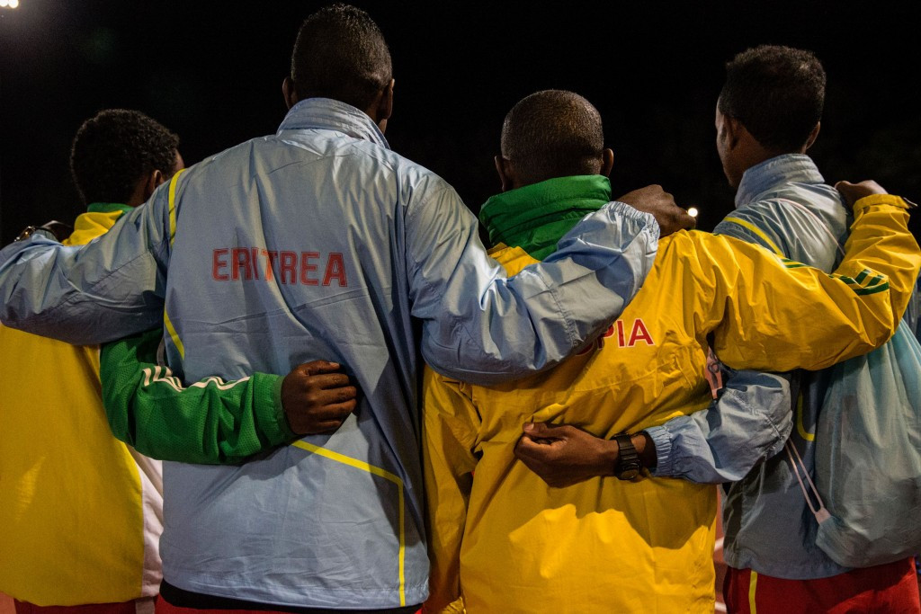 The African Athletics Championships in Durban have brought Ethiopia and Eritrea together ©Getty Images