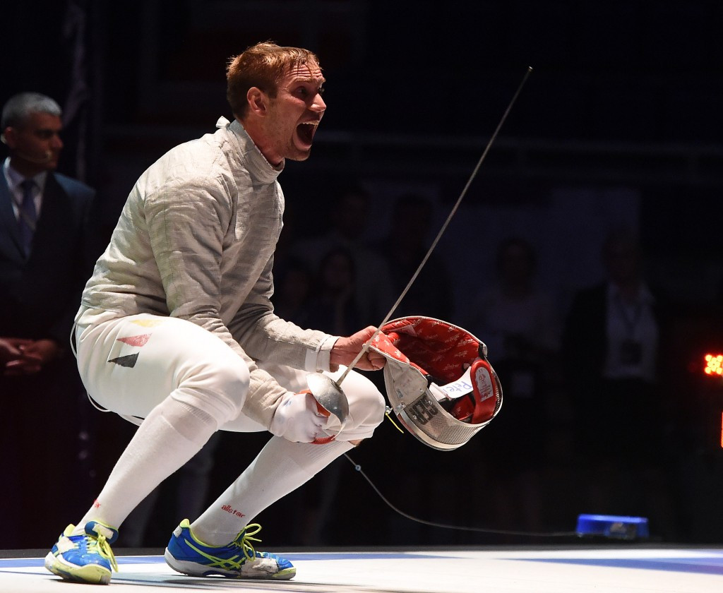 Wagner secures men's sabre gold at European Fencing Championships