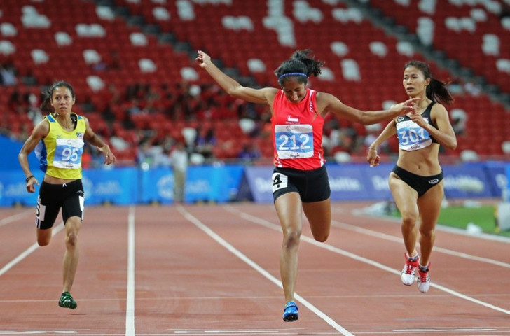 Pereira sprints to historic victory on superb day for host nation at Southeast Asian Games