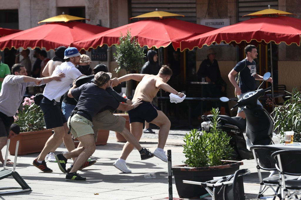 British Police appeal for information and witnesses over Marseille violence as UEFA fine Hungary for crowd trouble