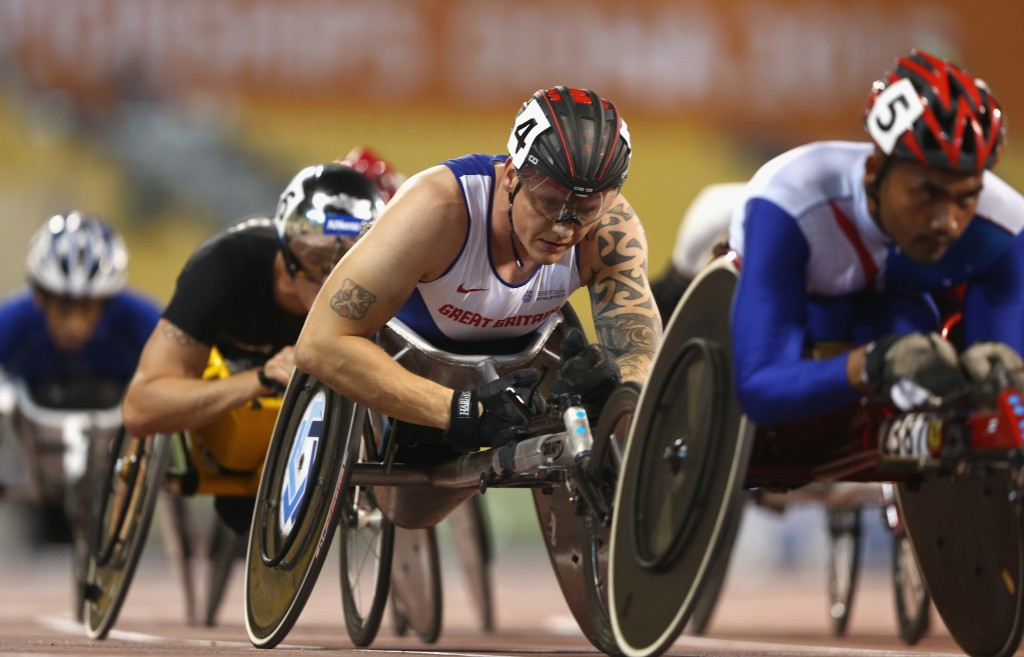 Six-time Paralympic champion Weir among first confirmed members of British squad for Rio 2016