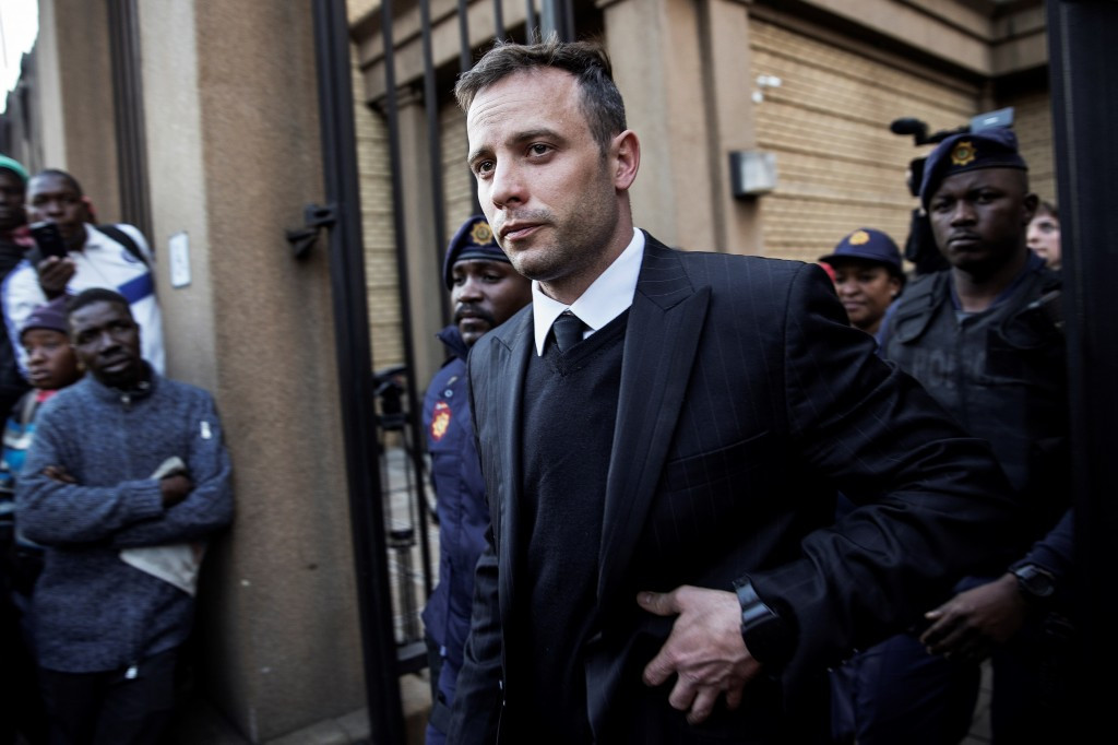 Oscar Pistorius will be sentenced for the murder of Reeva Steenkamp on July 6 ©Getty Images