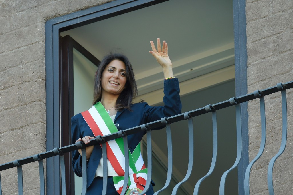 Rome 2024 have dismissed suggestions new Mayor Virginia Raggi's election spells the end of their bid for the Olympic and Paralympic Games ©Getty Images