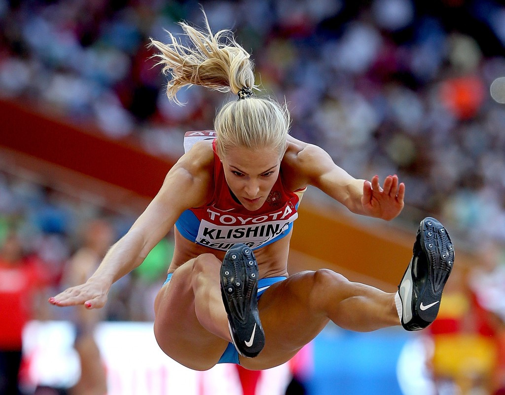 Darya Klishina was the only Russian set to compete at Rio 2016 in athletics events ©Getty Images