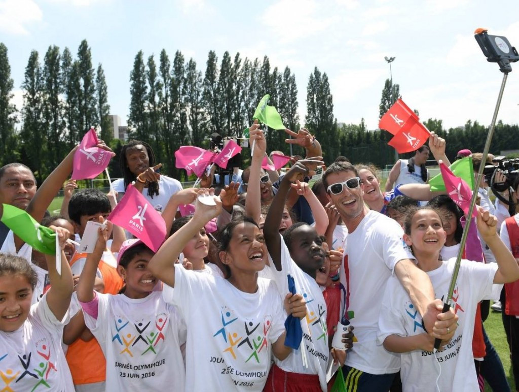 Hidalgo emphasises French solidarity for Paris 2024 on Olympic Day