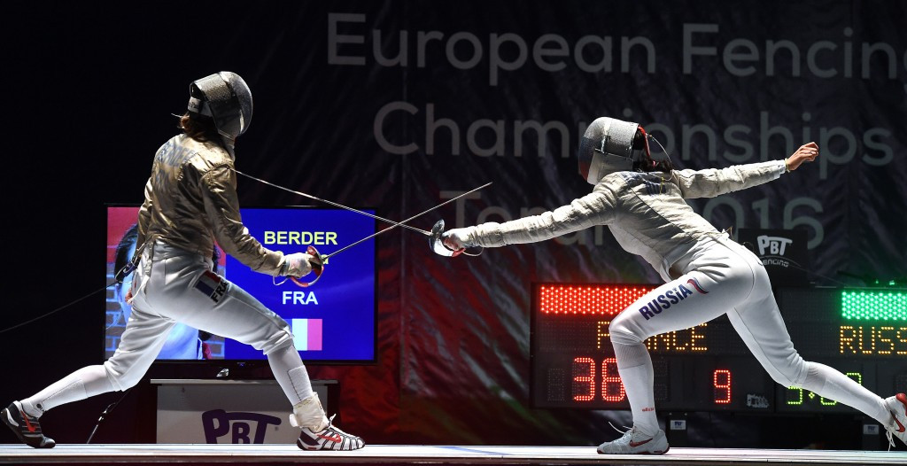 Russia claim double gold in team events at European Fencing Championships