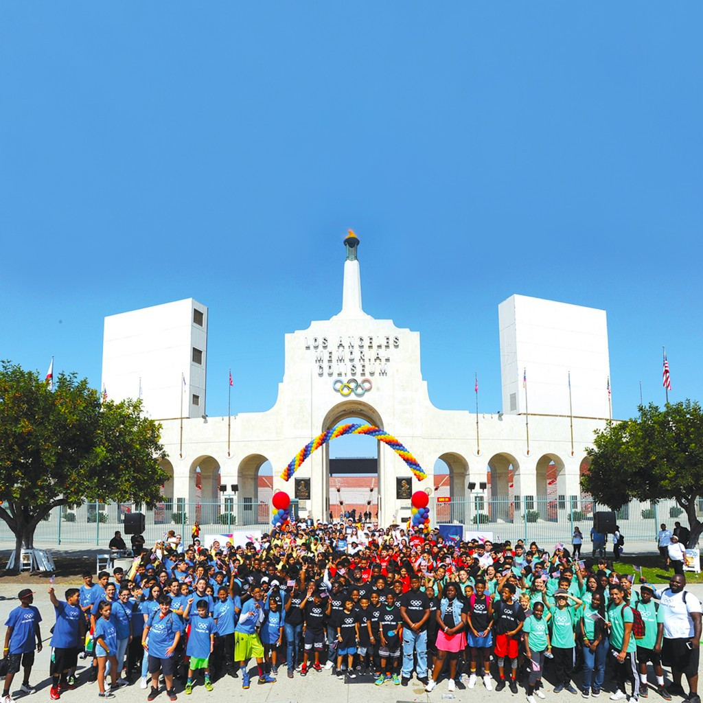 Los Angeles 2024 join forces with LA 1984 Foundation to host Olympic Day event