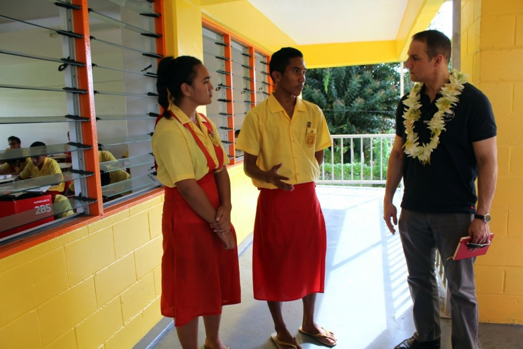 CGF chief executive Grevemberg visits Samoa to inspect final preparations ahead of Commonwealth Youth Games