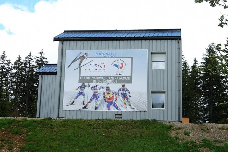 French biathlon team begin two-week camp as new facility at National Training Centre opens