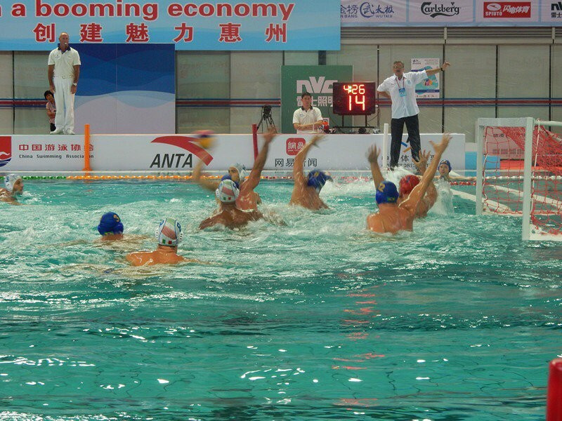 Holders Serbia progress to semi-finals at FINA Men's Water Polo World League Super Final