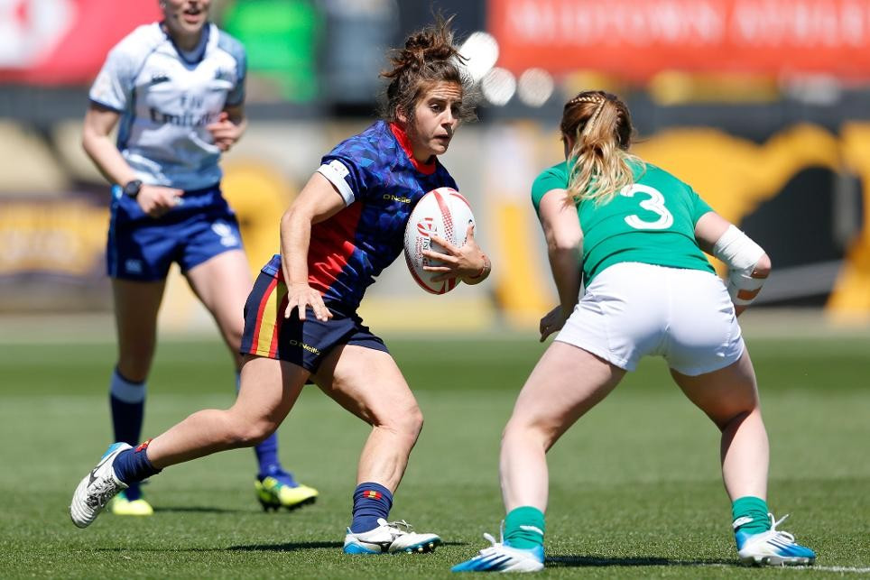 Martinez aiming for Spanish double at women's rugby sevens Olympic qualifying tournament