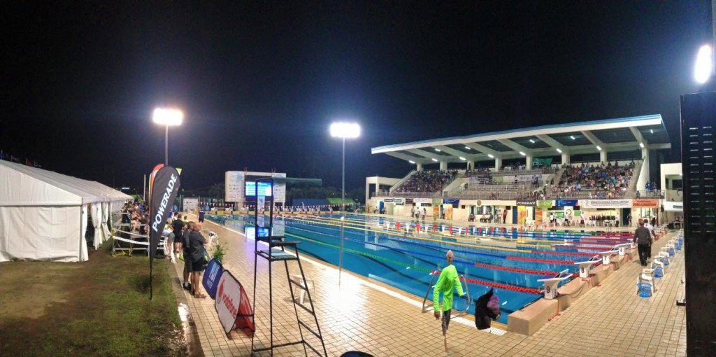 Today saw the final two sessions of pool action take place at the Oceania Swimming Championships