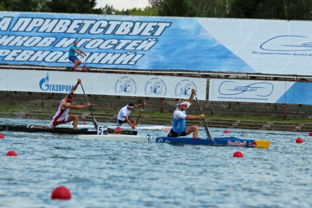World champion Fuksa makes strong start at European Canoe Sprint Championships