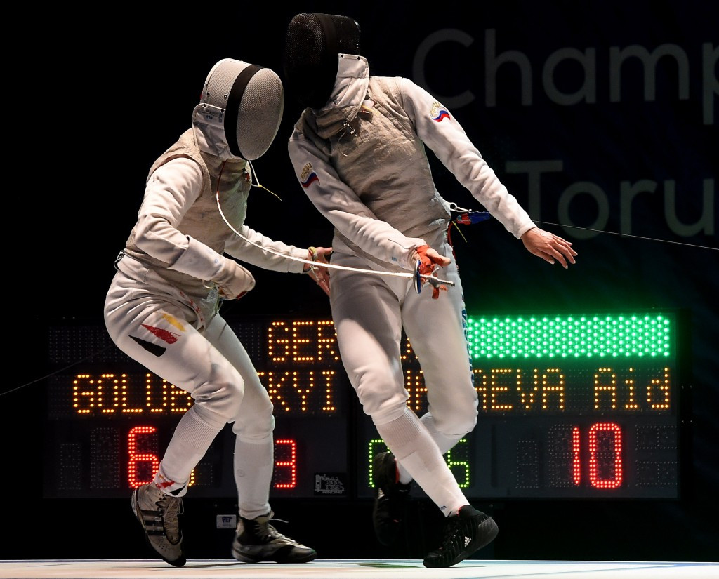 Russia avenge defeat to Italy to seal team foil gold at European Fencing Championships