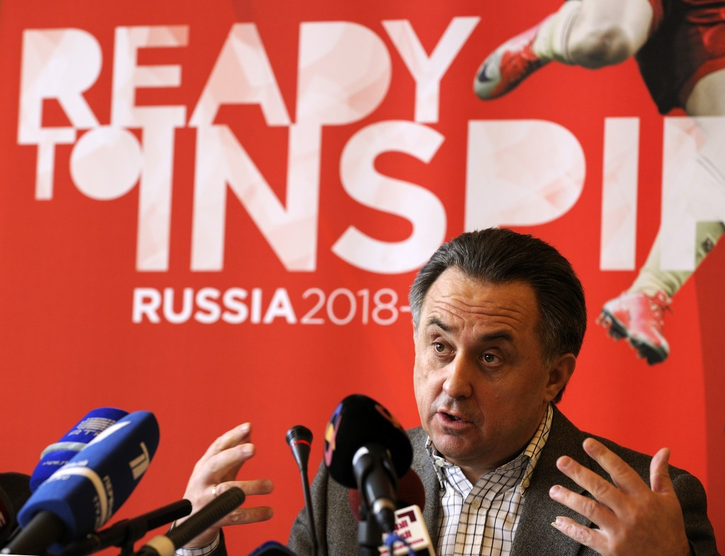 Vitaly Mutko is also President of the Russian Football Union and a member of the FIFA Council, playing a key role in the country's preparations for the 2018 World Cup ©Getty Images