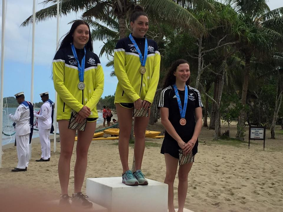 Colombini claims second open water title at Oceania Swimming Championships