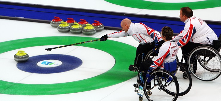 Britain's wheelchair curling team have had their funding cut due to not being able to demonstrate credible medal potential at Pyeongchang 2018