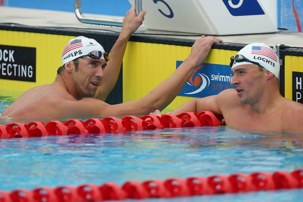 Phelps and Lochte to resume rivalry at US Olympic Swimming Trials in Omaha