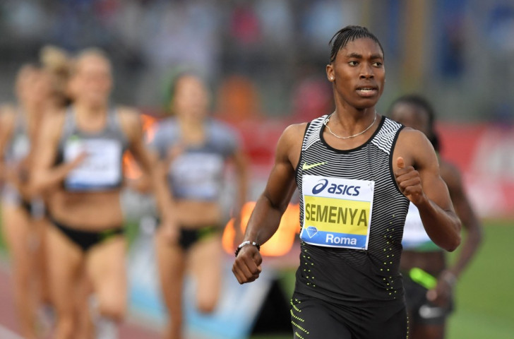 Caster Semenya, South Africa's favourite for the Rio 2016 800m title, pictured in Rome earlier this month, is ready to claim a second gold at the African Athletics Championships tomorrow after her 1500m  win on Friday ©Getty Images