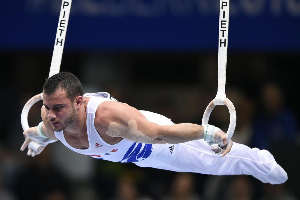 2013 European champion Samir Aït Saïd of France secured the rings honours
