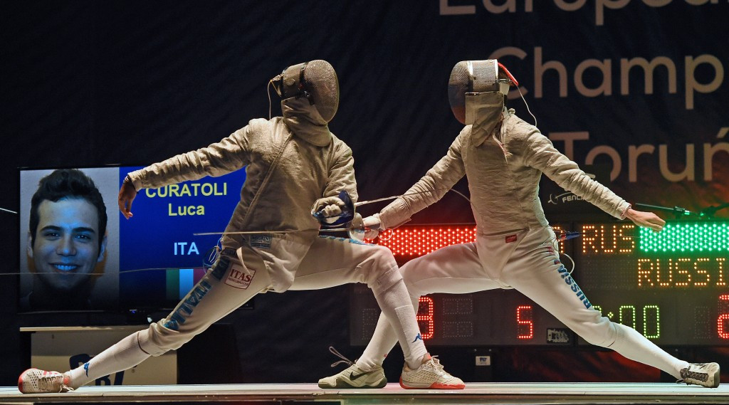 Russia beat Italy to claim the men's team sabre title ©Getty Images