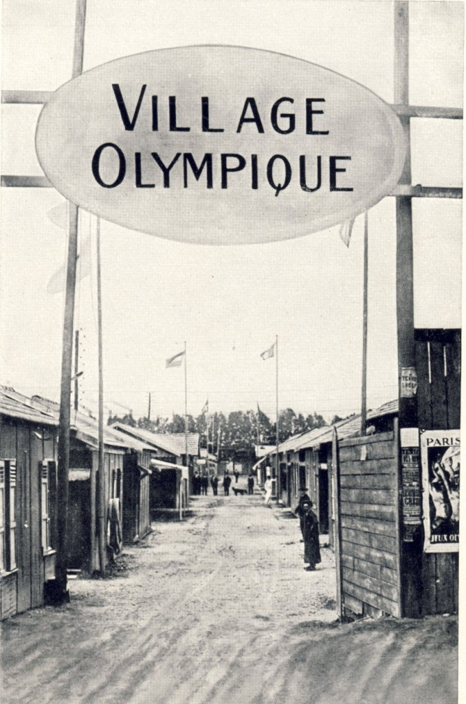 The first Athletes' Village at the Paris 1924 Olympic Games ©Philip Barker