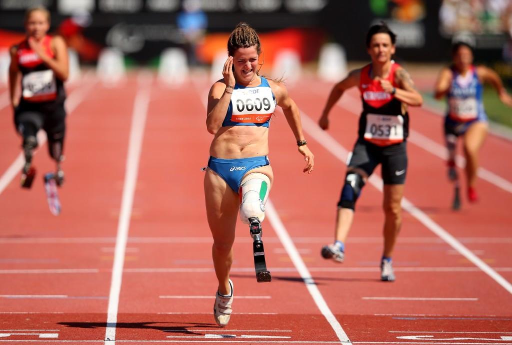 Home favourite Caironi tops bill at Grosseto IPC Athletics Grand Prix