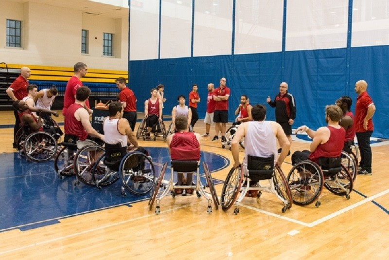 Wheelchair basketball and para-cycling in Canada will receive 50 per cent of the donation