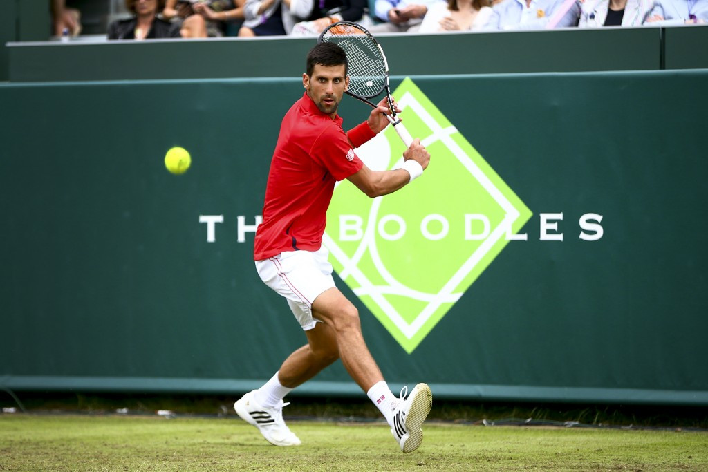Djokovic targeting calendar Grand Slam ahead of Wimbledon title defence