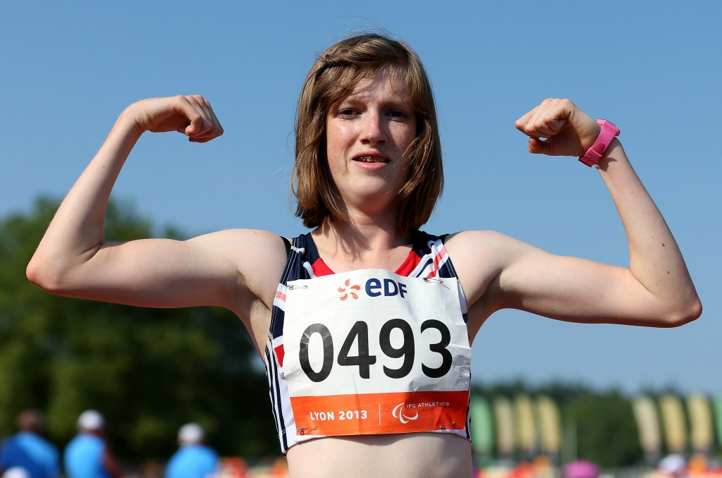 Britain's Sophie Hahn will face teammate Olivia Breen in the women's T38 100m